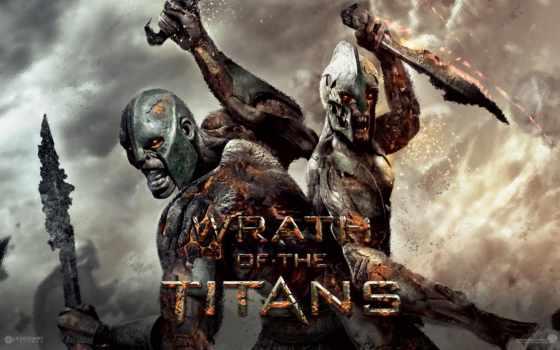 титанов, битва, titans
