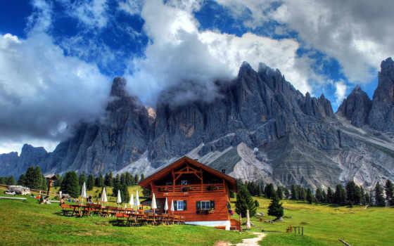 chalet, альпах, альпы, house, swiss, домов, ресторан, lodge, двухэтажный, картинка,