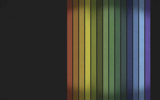 линии, радуги, ряд,