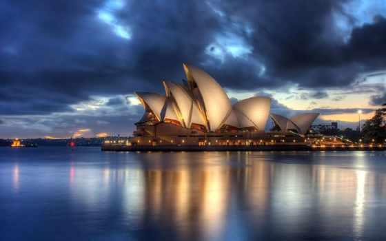sydney, opera, house, австралия, австралии,