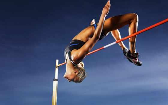 прыжок, high, высоту, сделать, спортсмены, online, women,