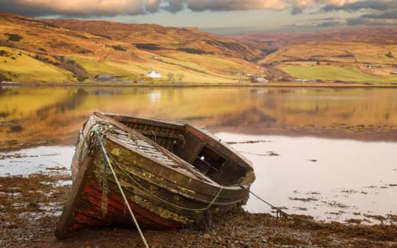 лодка, фото, плитка, спина, mural, splash, стена, категория,