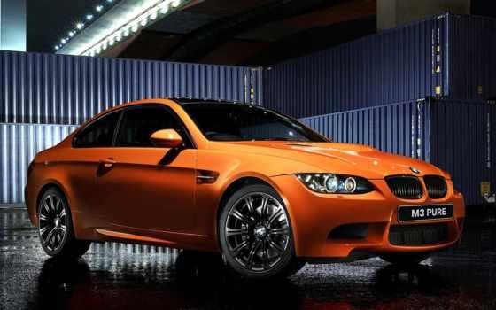 bmw, оранжевый, coupe, pure, car, машины, авто,