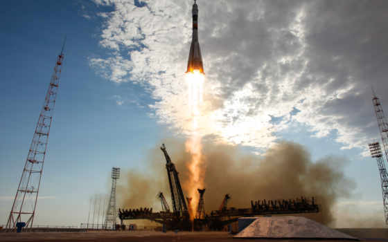 kazakhstan, игры, space, rocket, fs, старт, ships, нужно, союз, expedition, тма, байконур, soyuz, cosmodrome, launched,