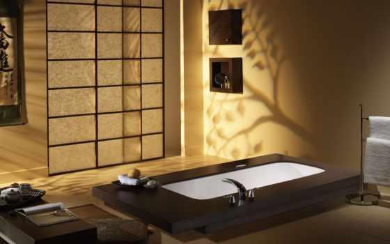ванная, пол, japanese, oriental, ванна, ideas, how, можно,