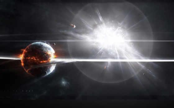 широкоформатные, качественные, one, космонавт, телефона, cosmos, bang, сверхновой,