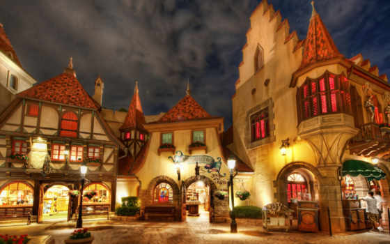 town, architecture, florida