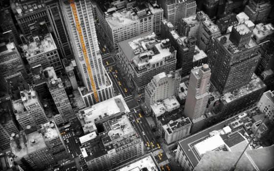 улицы, город, york