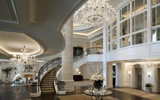 house, люстра, люкс, hall, паркет, villa, хрустальная, интерьер,