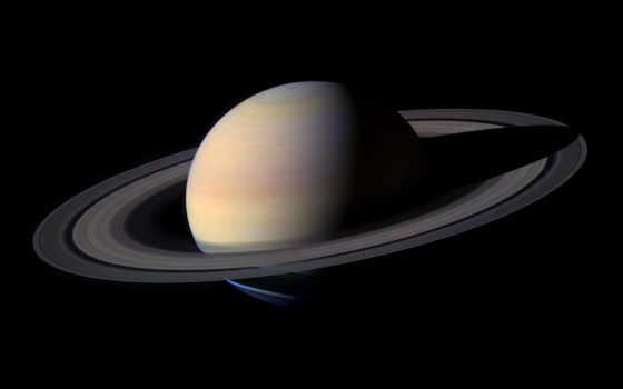 сатурн, космос, real, планета, кольца, planet, top,