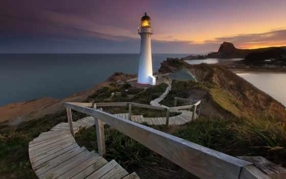 lighthouse, donegal, уезд, fanad, голова, ireland,