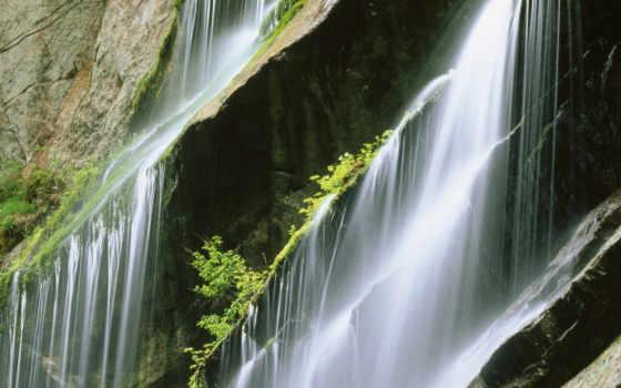 water, desktop, водопад, туман, брызги, капли, нояб, очень,