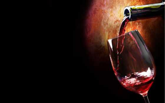 вино, red, glass, широкоформатные, плакат, ресторан, панкреатит, вектор, бутылка,