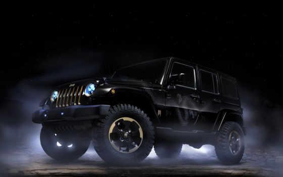 jeep, wrangler, дракон