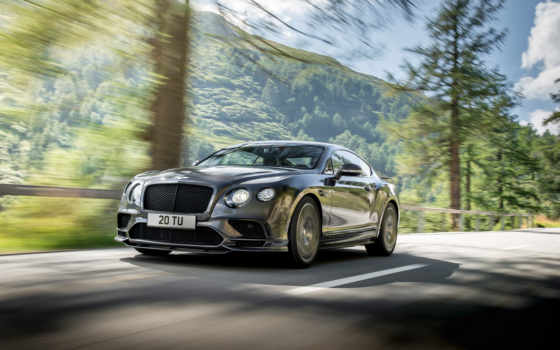 bentley, continental, supersports, янв, car, fastest, coupe, представила,