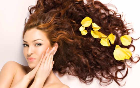 волос, волосы, роскошные, за, волосами,