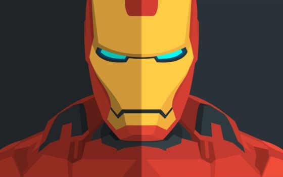 iron, мужчина, minimal, art, desktop,