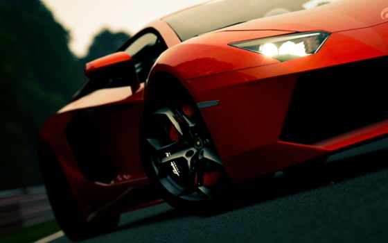 lamborghini, aventador, cars, games, supercars, video, фото, angle, трек, wheels,