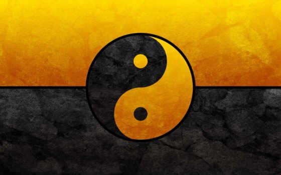 yin, black, yang, gold, янь,