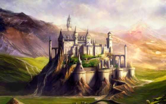 музыка, castle, замки, middle, early, баварии, ages, сказочные, occitan,