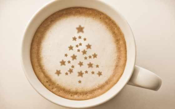 coffee, cup, рисунок, cappuccino, зерна, картинка, макро,