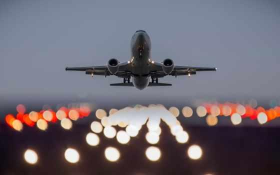 band, взлетная, самолёт, авиация, самолеты, авиации, кабины, огни,