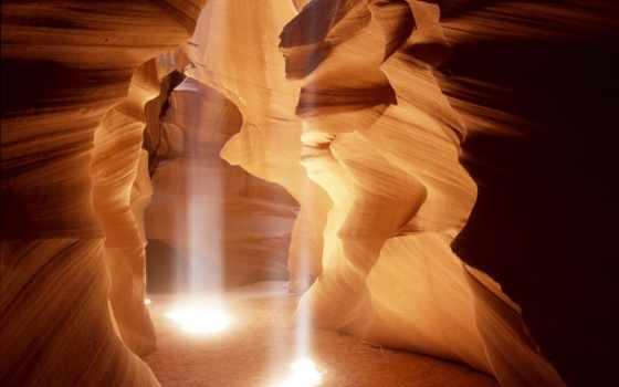 антилопы, каньон, сша, antelope, природы, удивительное, скалы, собой, création, причудливые,