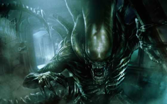 фильмы, чужой, союз, монстры, fantasy, monster, фантастика, alien, игры, картинка,