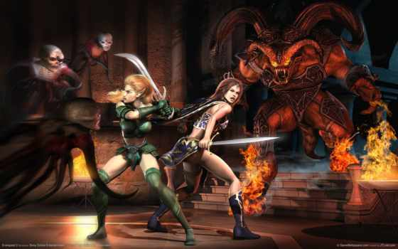 everquest, dead, left, игры, mmorpg, header, zoey, zombies, anime,