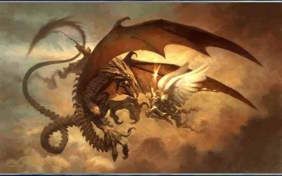 дракон, fantasy