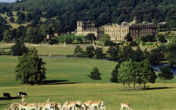 castle, chatsvort, великобритания, палуба, мари, stewart, история