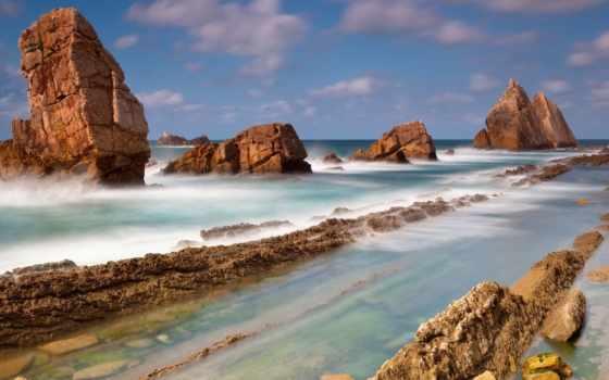 камни, море