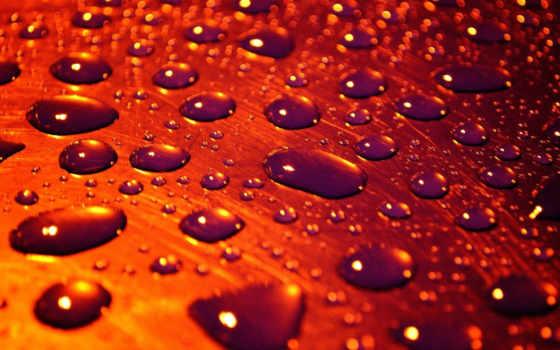 drops, water, дождь