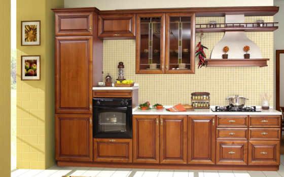 кухни, interer, dizain, кухня, все, интерьера,