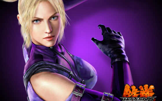 tekken, williams, nina, игры, анна, her, user, tournament,