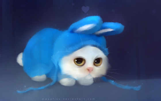 bunny, рисунок