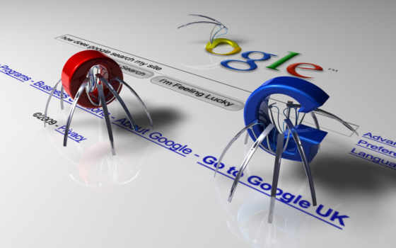 Google - spider letters