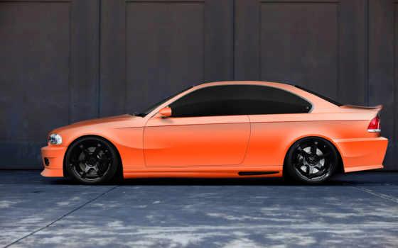 bmw, теги, оранжевый