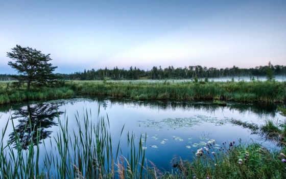 озеро, красивые, озера