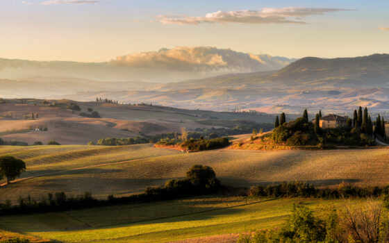 tuscany, duvet, спичка, поле, луг, italy, качество, небо, цена