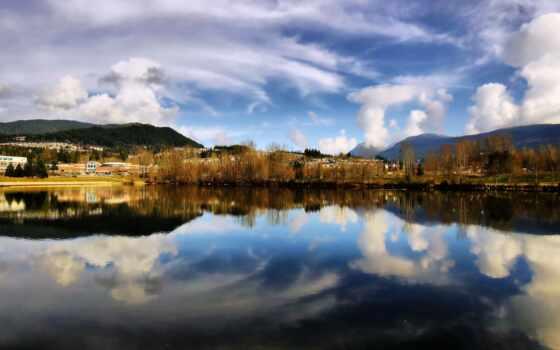 water, отражение, sorento, побережье, inch, дерево, multus, touch, остров, озеро