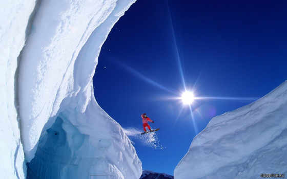 сноуборд, сноуборде Фон № 19143 разрешение 1680x1050