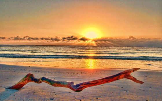 берег, море, закат Фон № 38601 разрешение 1920x1200