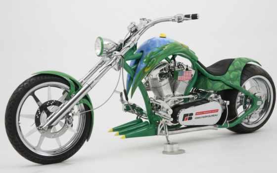 chopper, кастом, мотоцикл