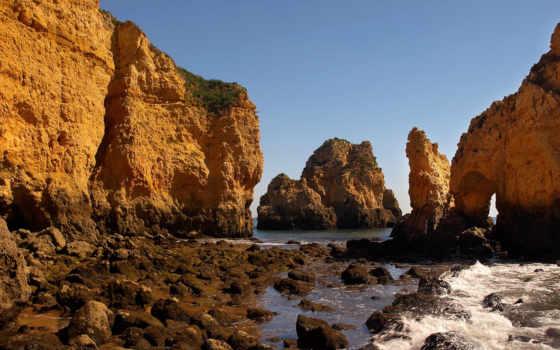 море, скалы, волны Фон № 86771 разрешение 1920x1080