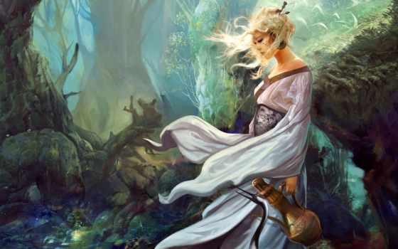fantasy, devushki, девушка