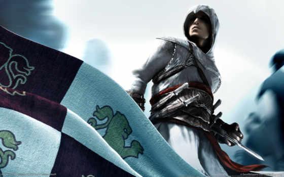 creed, assassins, флаг
