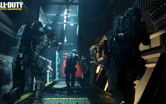 колл, duty, warfare, infinite, корабль, gameplay, assault,