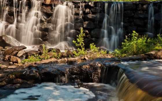красивые, природа, водопад, качества, камни, природы, страница, горы, высокое, хорошего,