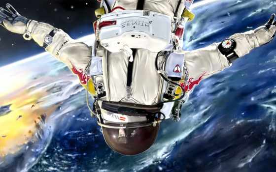 cosmos, art, скафандр, астронавт, космос, planet, celaj, julian, живопись,